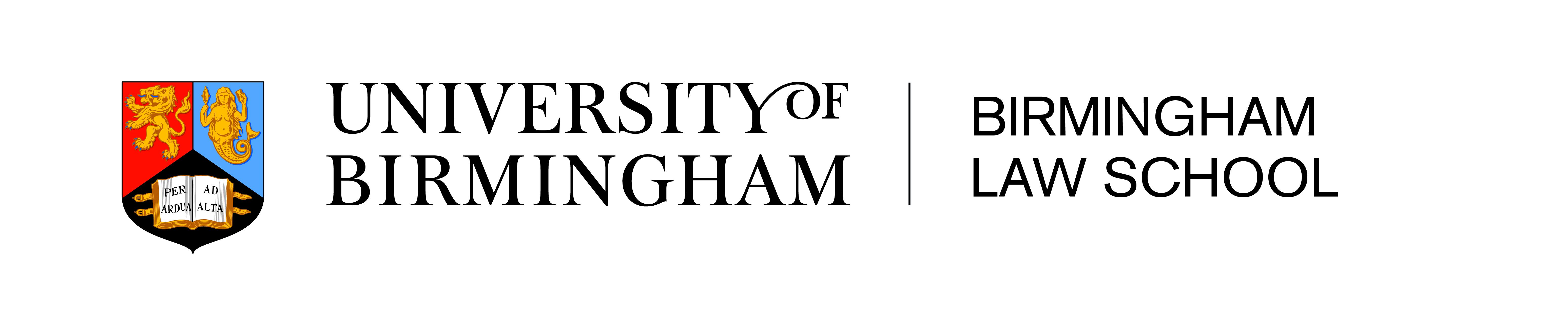 University of Birmingham Birmingham Law School